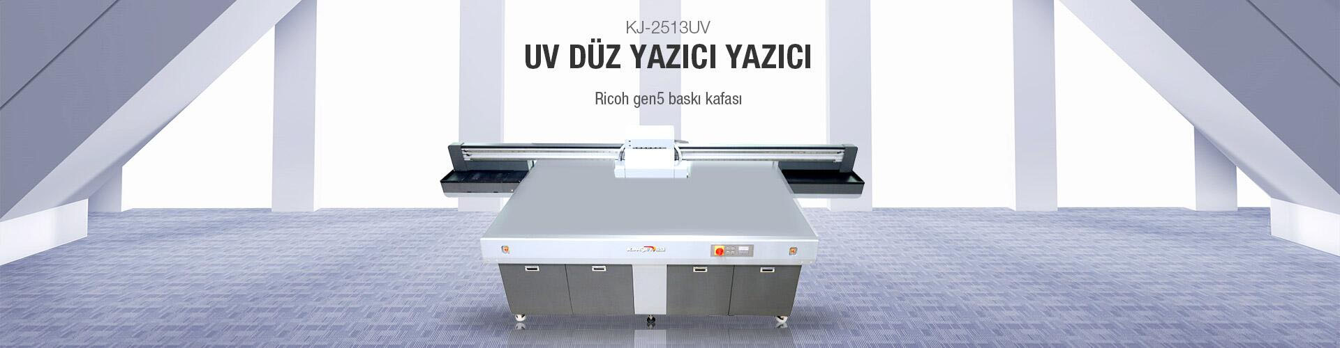 KJ-2513UV Akrilik Baskı Makinesi